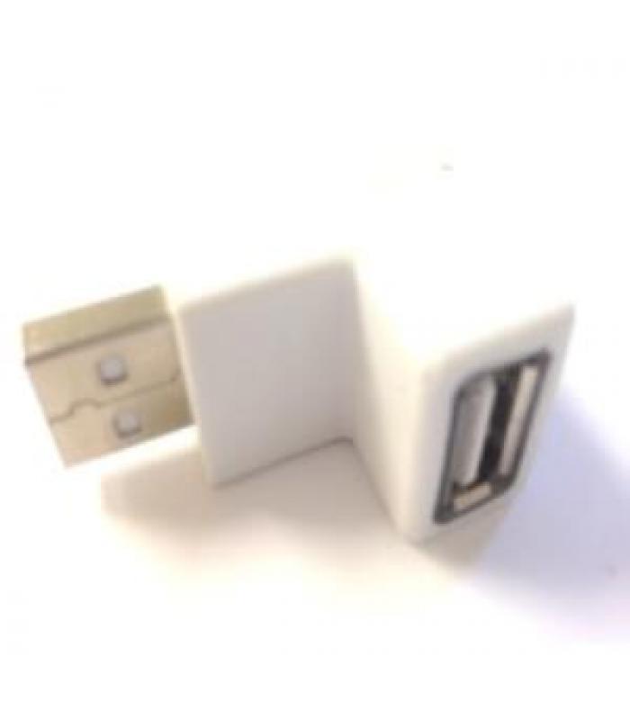 USB Adapter M/F 270 Degree