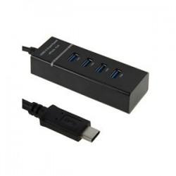 USB 3.1 Type-C to USB 3.0 4-Port USB Hub