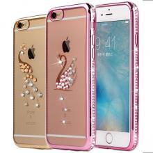 iPhone 6/6S Plus Bling Crystal Rhinestone Diamonds Swan