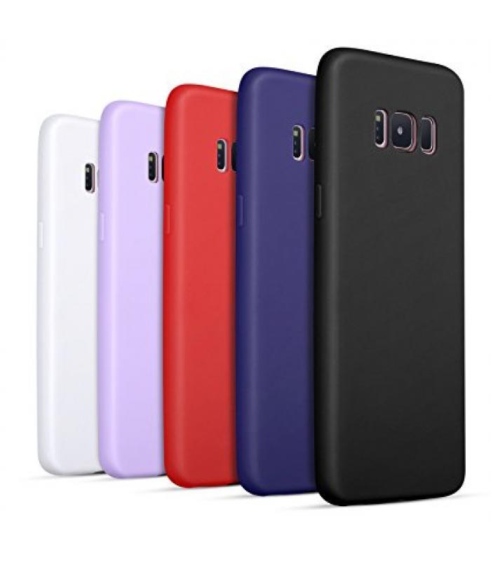 Samsung Galaxy S8 Silicone Solid Color Case