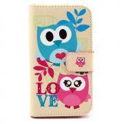 Samsung Galaxy S7 Owl Wallet Case