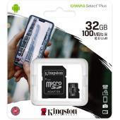 Kingston Canvas Select microSD Card - 32 GB