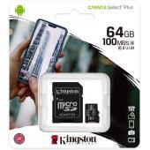Kingston Canvas Select microSD Card - 64 GB