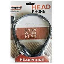 Deptek Headphone with Microphone (3.5mm jack connector)