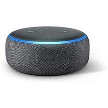 Echo Dot (3rd gen) - Smart speaker with Alexa- Charcoal
