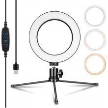 LED Ring Light & Selfie Ring Light