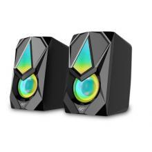 Havit HV-SK563 RGB Light Gamenote Stereo Computer Speaker