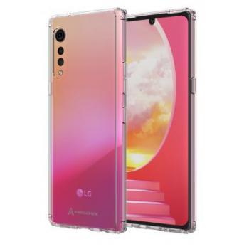 LG Velvet 5G Axessorize Ultra Clear Case