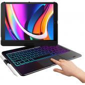 iPad 7th Gen, Air 3 & Pro 10.5 Flexbook 6-in-1 Keyboard Case