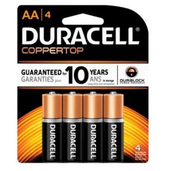 Duracell AA4 Battery
