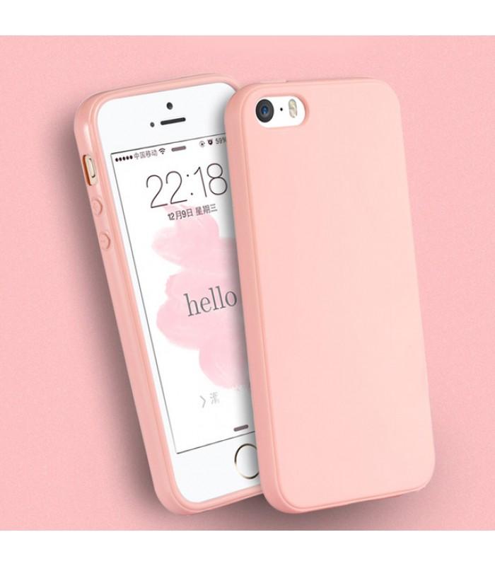 iPhone 5/5S/SE Solid Color Rubber Case