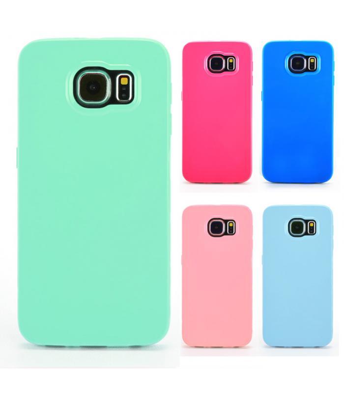 Samsung Galaxy S6 Silicone Solid Color