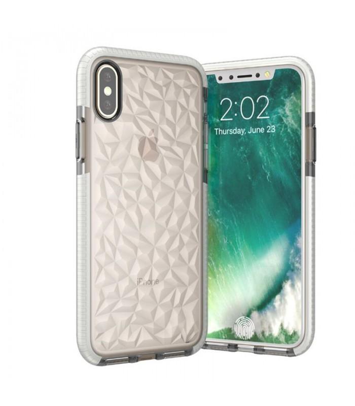 iPhone X Geometric Silicone Case
