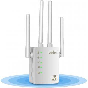 Aigital WiFi Internet Signal Booster, 1200Mbps