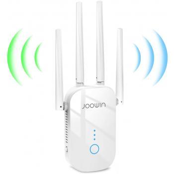 JOOWIN WiFi Extender, 1200Mbps WiFi Booster. Model: JW-WR758AC