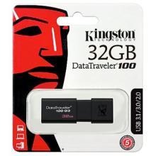 Kingston DataTraveler 100 G3 - USB flash drive - 32 GB