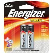 Energizer Max 1.5V Alkaline AA Battery