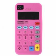 iPhone 4 Calculator Silicone Case