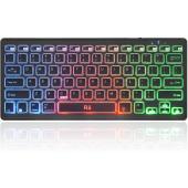 Rii Bluetooth RGB Keyboard, Wireless - K09